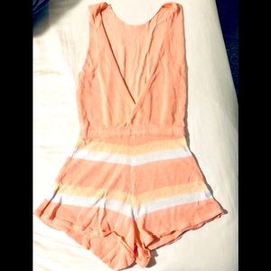 Pants - Peach Romper or Cover up